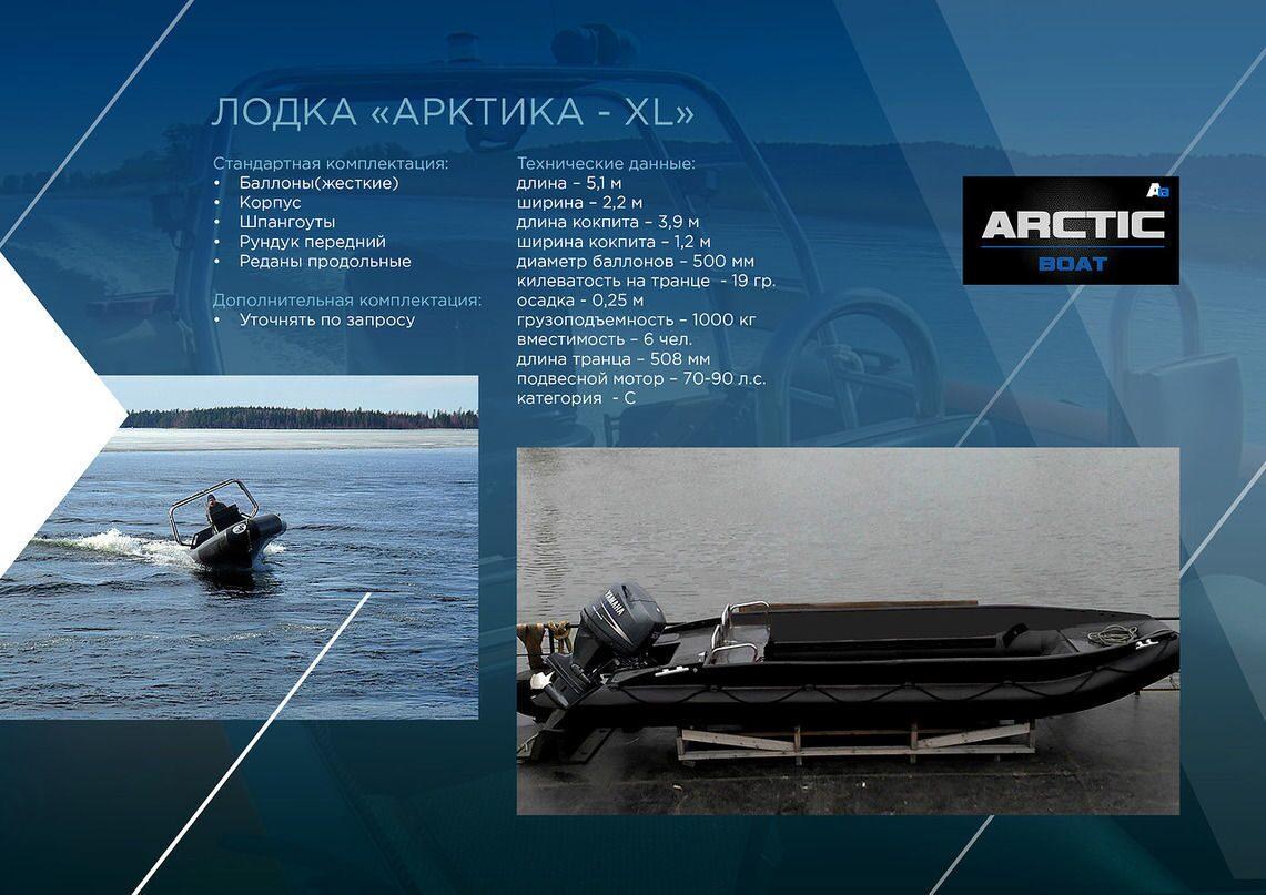 лодка арктик бот